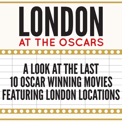 London at the Oscars Inforgraphic Preview