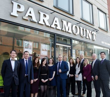 Charity donation from Paramount Properties