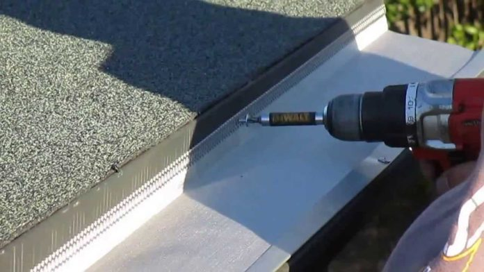 How to install gutters on a flat roof | Property Division