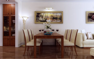 Current trends in dining room furniture