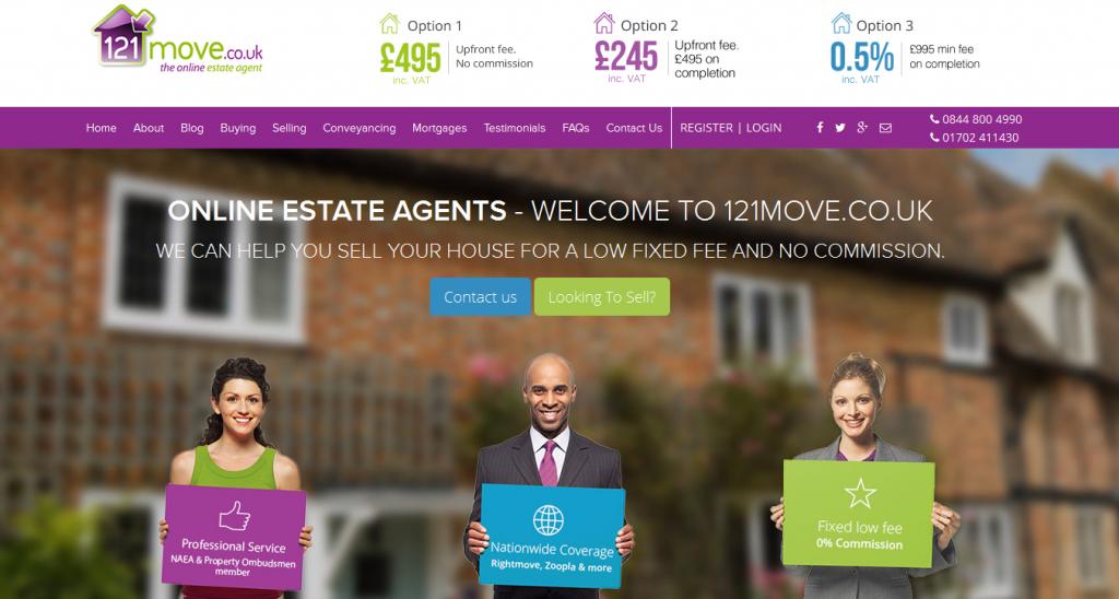 Online Estate Agents 121move.co.uk