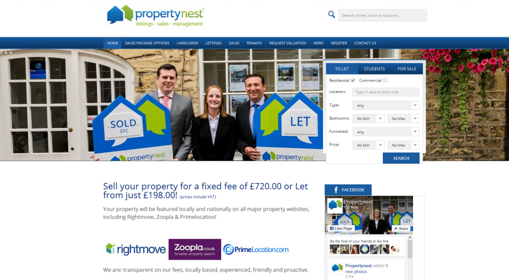 Visit Propertynest.co.uk