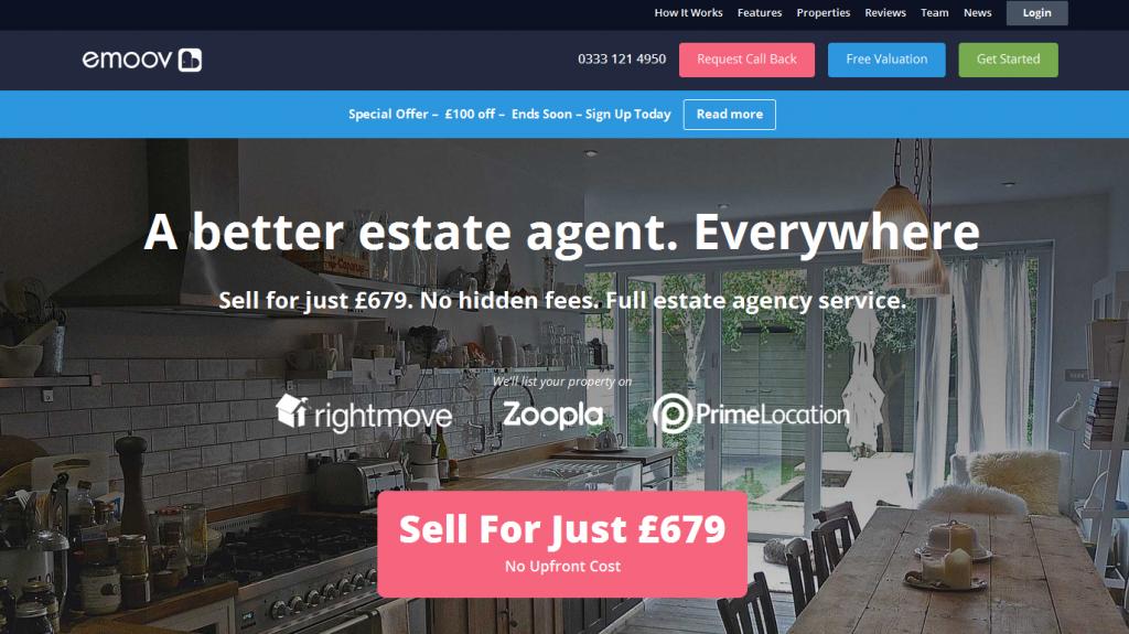 Online Estate Agents emoov