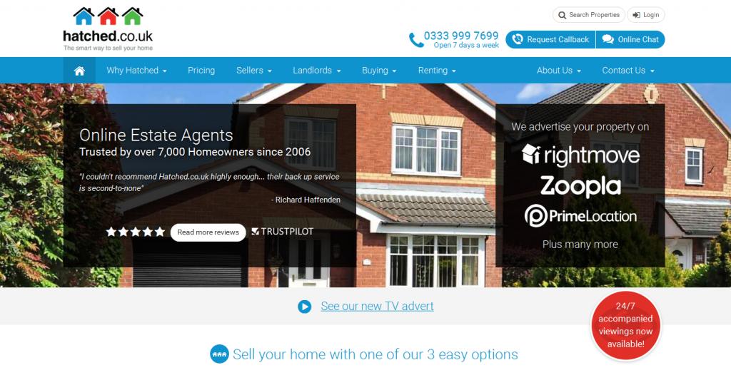 Online Estate Agents hatched.co.uk