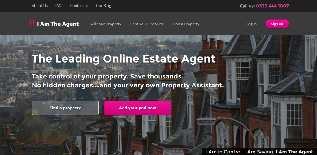 Online Estate Agents i am the agent