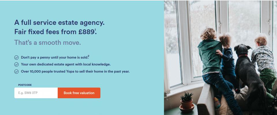 YOPA - Best Online Estate Agents