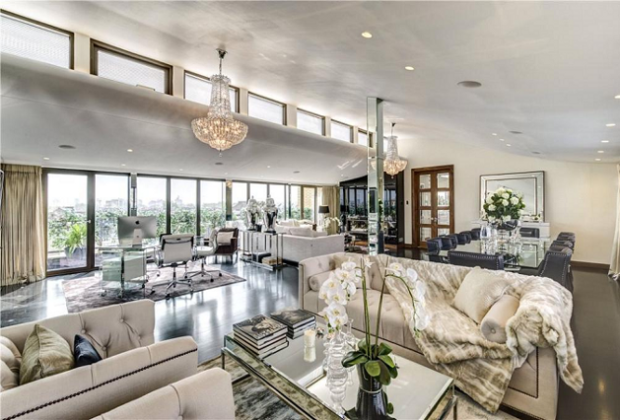 celebrity homes that went up for sale over the past 12 months