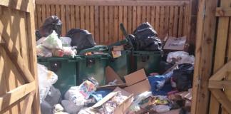 Dumped Rubbish In Communal Areas