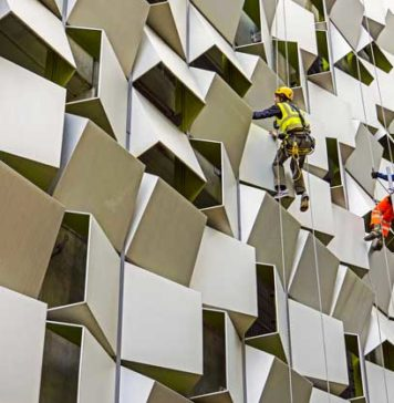 rope access cladding