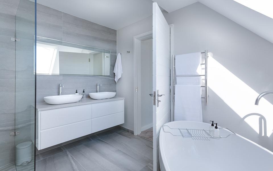 contemporary bathroom example