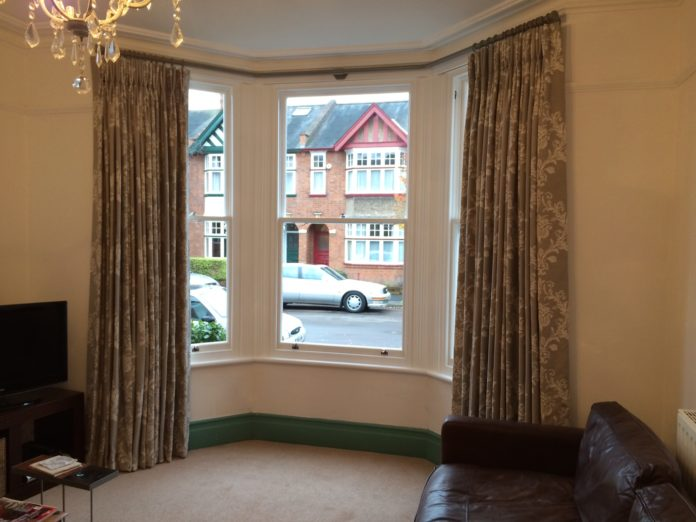 Find Creative Curtains For Bay Windows