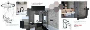 Black Bathroom home trend