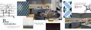 Bold Backsplash home trend