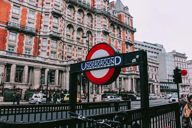 Location in London