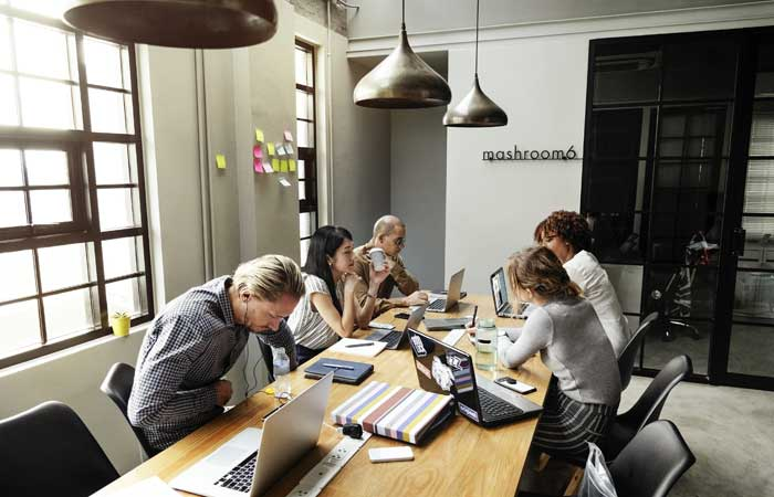 office furniture design space