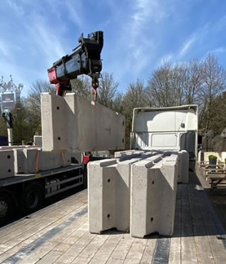 Temporary Vertical Concrete Barriers