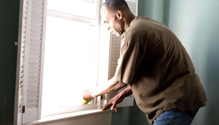 window sill repair