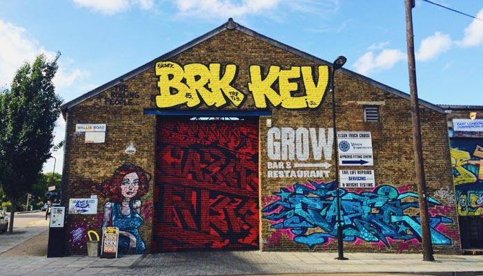 brownfield site London