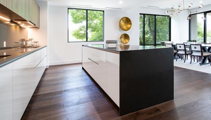 Kitchen Appliances & floor