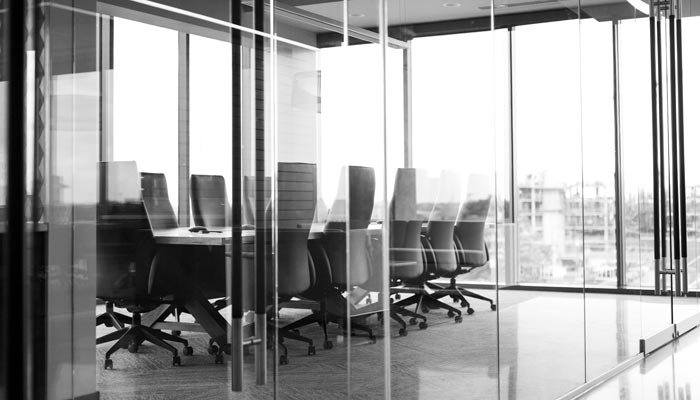 meeting room in office