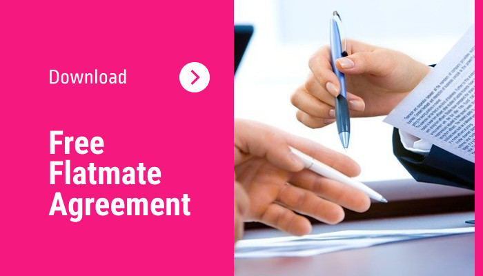 Free Flatmate Agreement