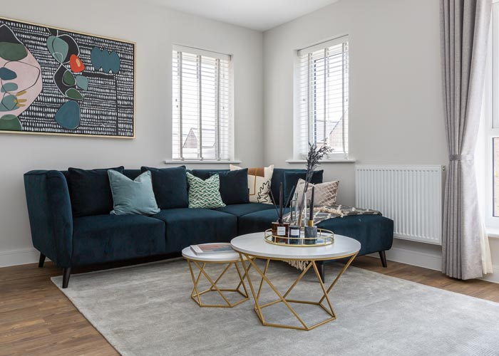 The Arbour Development - Livingroom